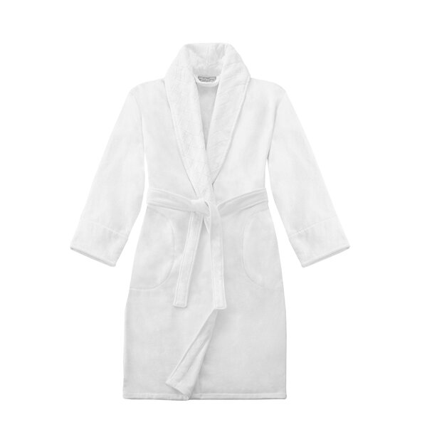 Salinger 100% Cotton Velour Bathrobe by The Twille